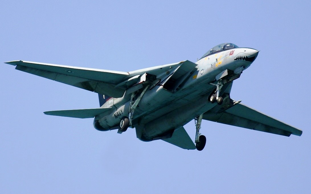 F-14 Tomcat Jet Fighter Wallpaper 2