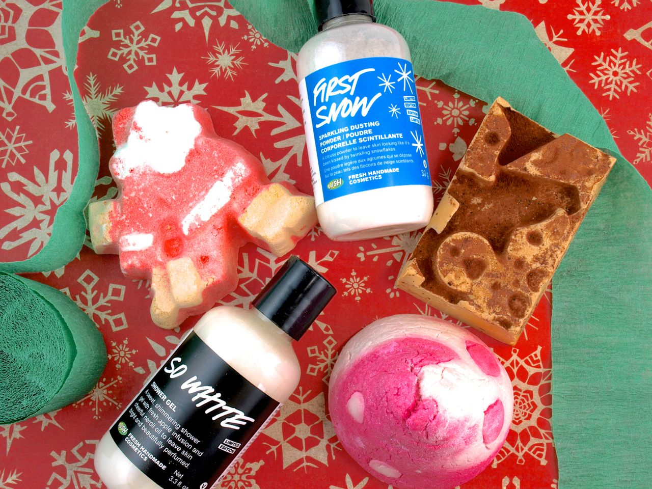 Lush Christmas 2014 Collection: Reviews