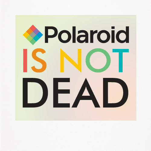 POLAROID IS NOT DEAD!