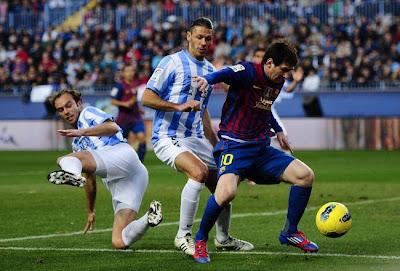 Barcelona vs Malaga Live Stream Online Spanish Copa del Rey 16 January 2013