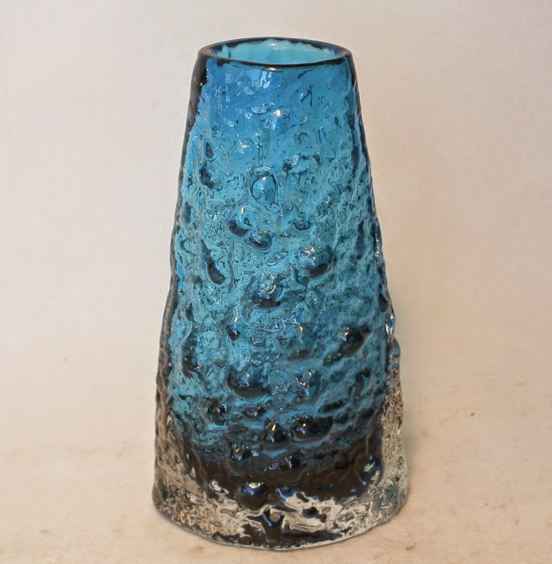Whitefriars Glass Volcano Vase Geoffrey Baxter Retro Collectables