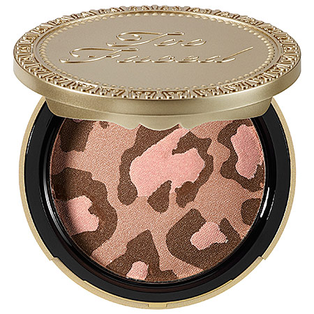 Chameleon Stampede, beauty blog, beauty blogger, First Look Fridays Interview Series, Too Faced Pink Leopard Blushing Bronzer, makeup