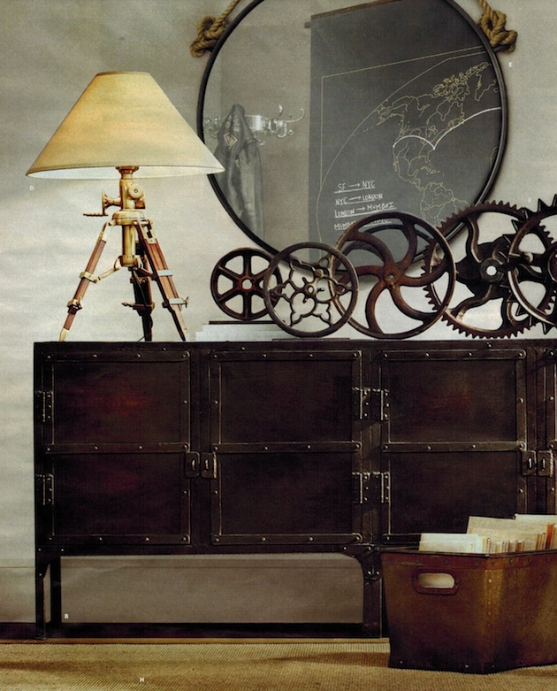 what do you think of steampunk decor t h e v i s u. Black Bedroom Furniture Sets. Home Design Ideas