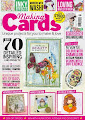 CURRENTLY FEATURED ON THE COVER OF THE MARCH ISSUE OF MAKING CARDS MAGAZINE