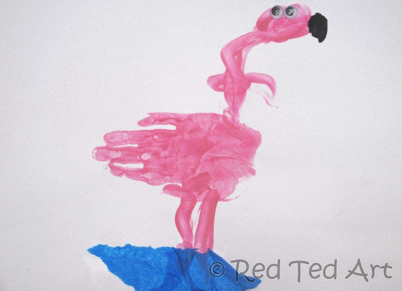 We Love Being Moms!: Letter F (Flamingo)