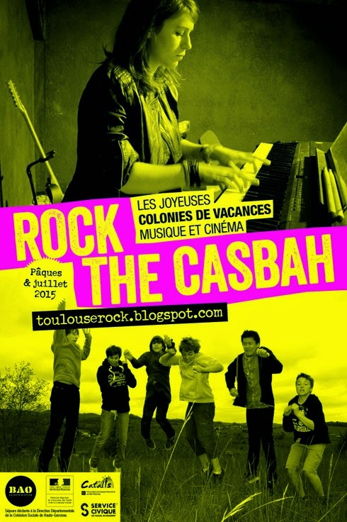 Colonie de vacances musique et cinéma Rock The Casbah 2015