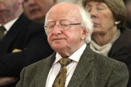 President Michael D. Higgins. Source: Photocall Ireland
