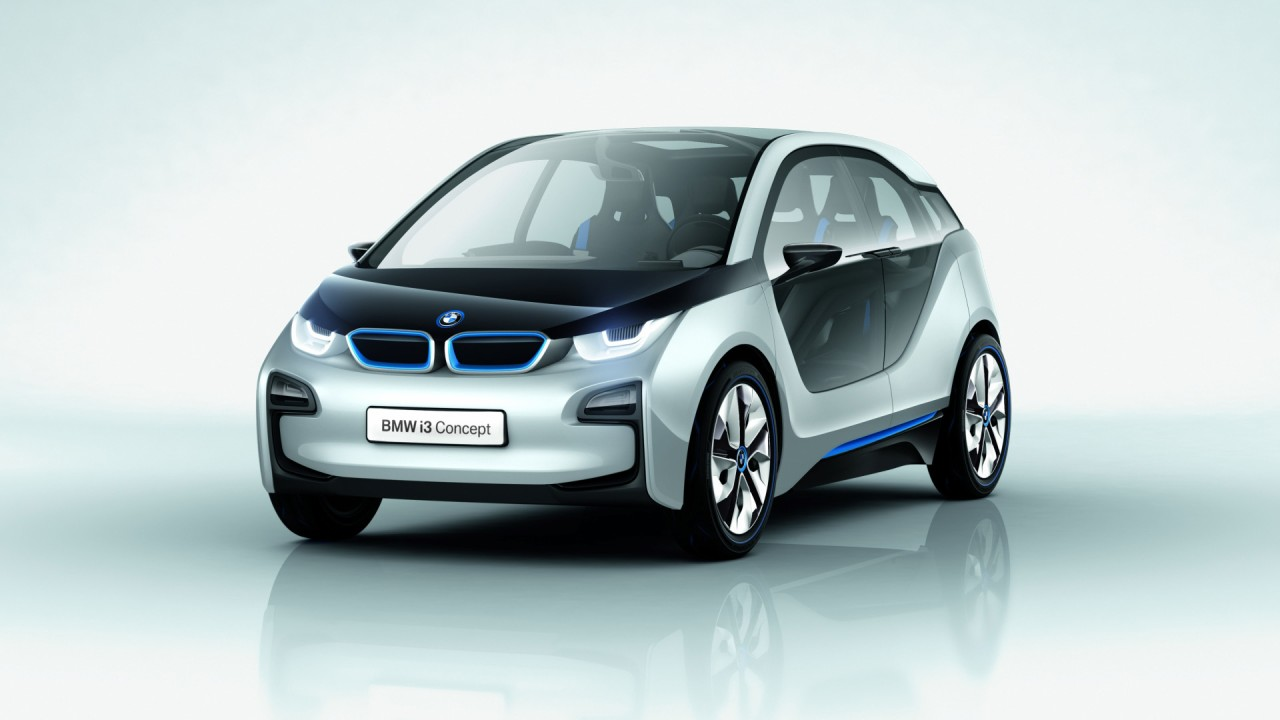 BMW Answers For Small Car Wars : BMW I3