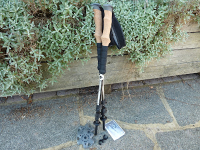 trekking pole crutches