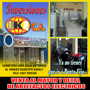 "INVERSIONES ""DKR"" C.A EL VENADO ESTADO ZULIA VENEZUELA."