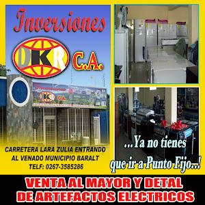 """INVERSIONES """"DKR"""" C.A EL VENADO ESTADO ZULIA VENEZUELA."""