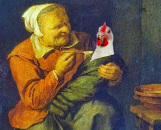 La vedova e la gallina (Esopo)