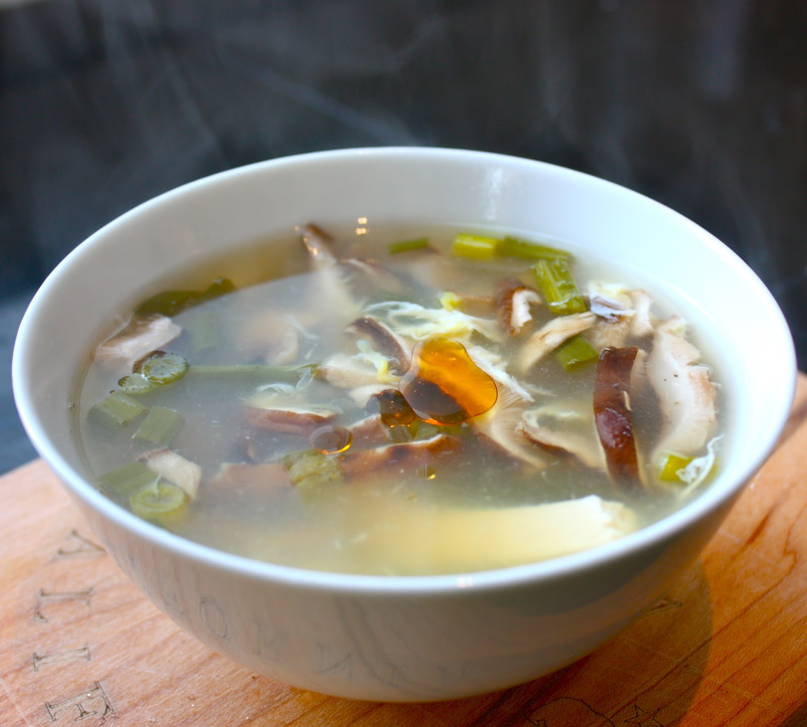Cannella Vita: vegetarian hot and sour soup