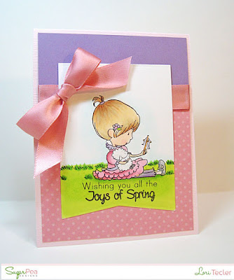 Joys of Spring card-designed by Lori Tecler/Inking Aloud-stamps and dies from SugarPea Designs
