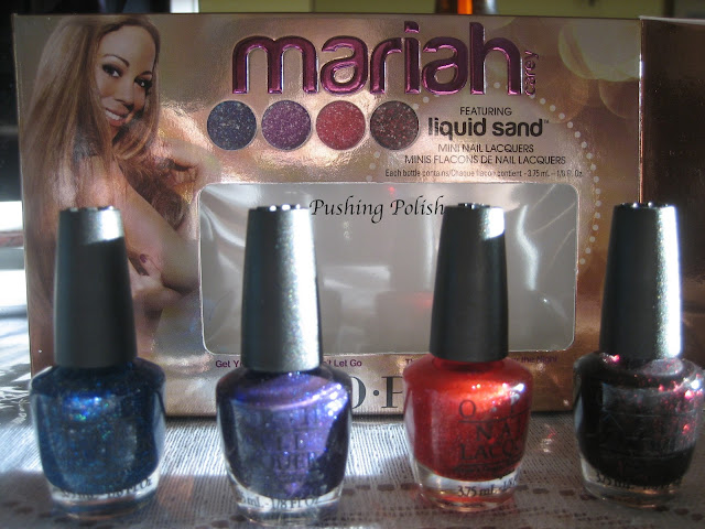 OPI Mariah Carey Liquid Sand mini collection
