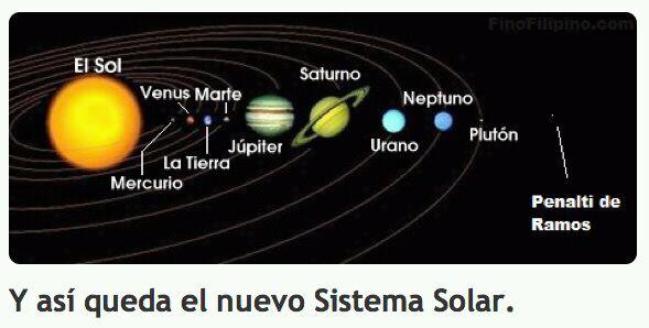 Tres tristes mandriles actualizado el mapa del sistema solar for Cuarto milenio ultimo programa completo