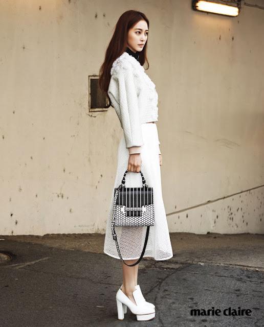 Han Ye Seul Marie Claire Decke Handbag Pictorial