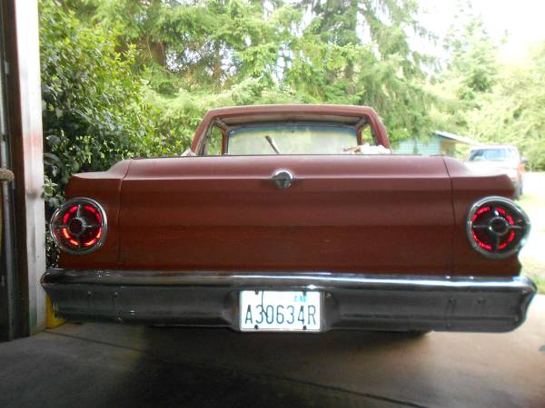 Restoration Project Cars: 1964 Ford Ranchero Project