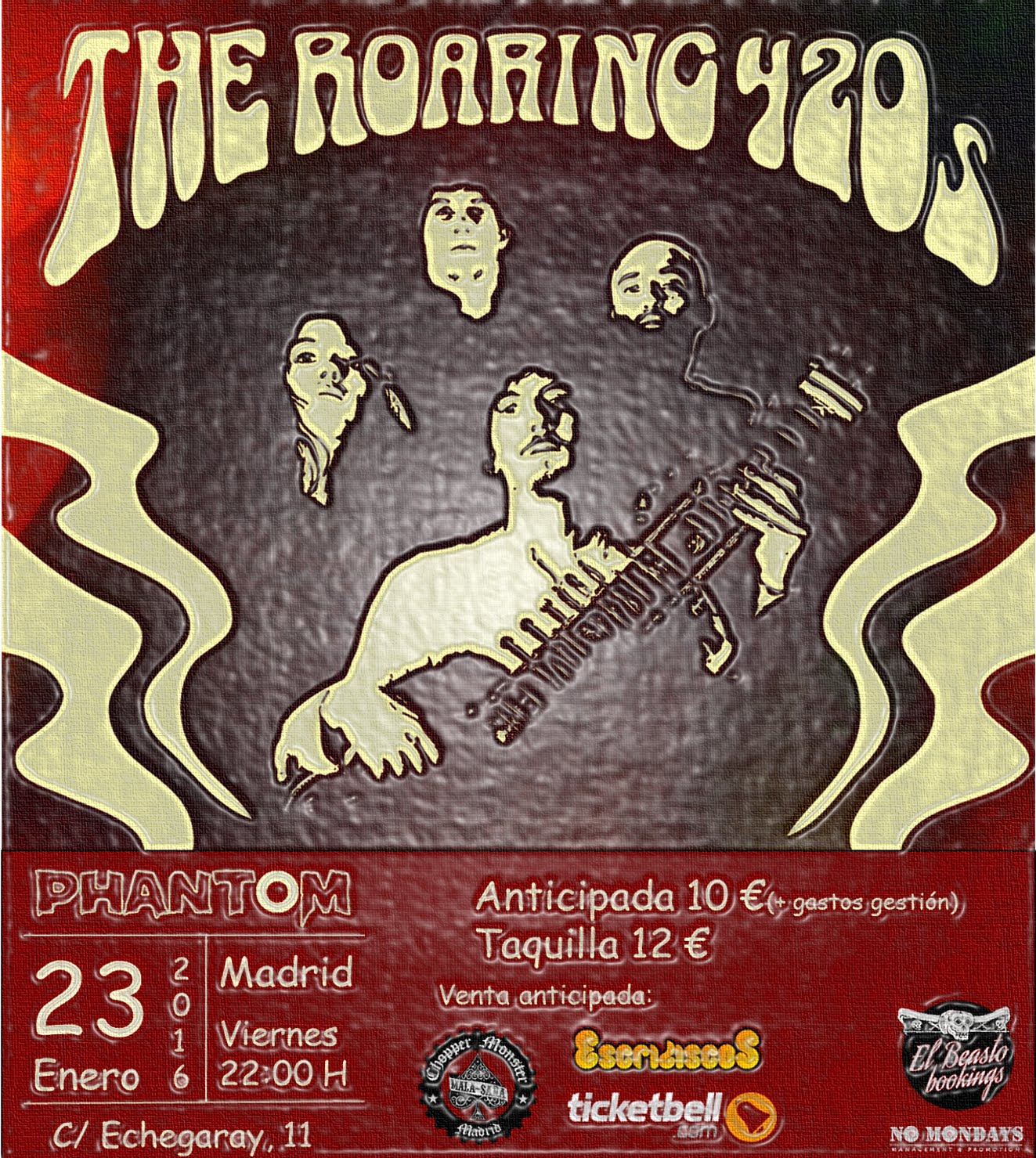 The Roaring 420s - Phantom - 23/01/2016