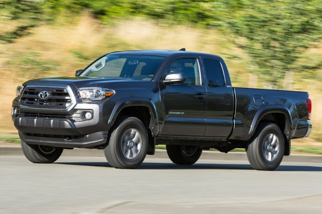 2016 All New Toyota Tacoma Edition side view