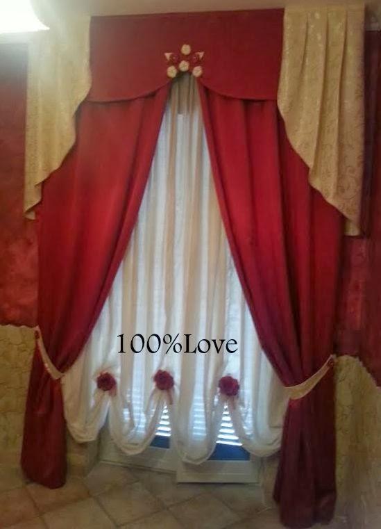 100 love tenda elegante - Tenda camera da letto ...