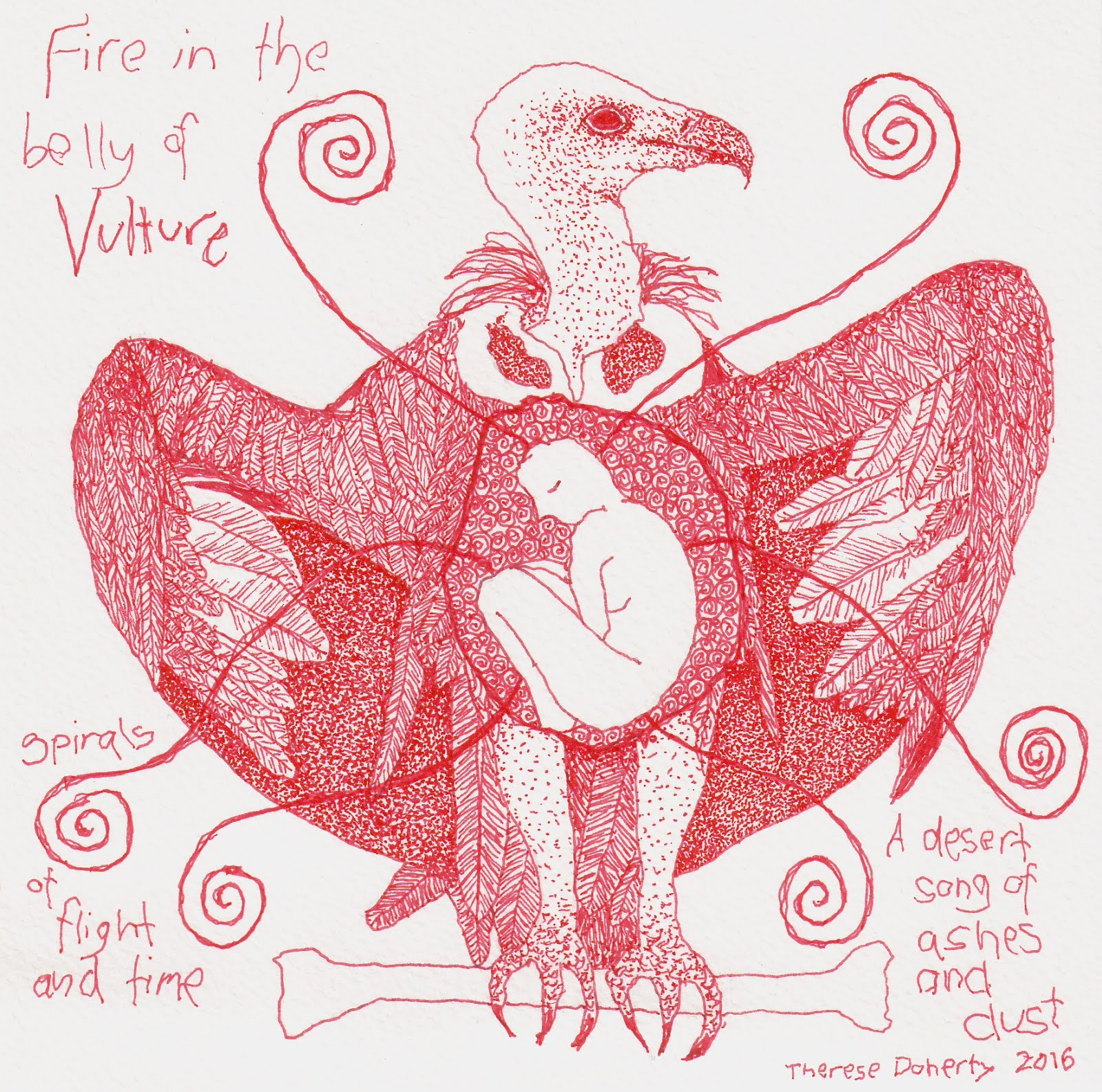 Fire in the Belly of Vulture