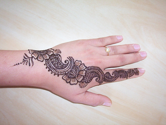 Easy Simple Henna Designs for Hands