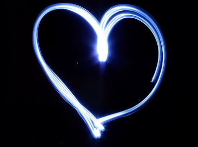 Light Painting - Heart