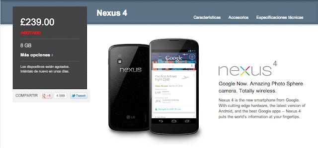 Review del primer día de ventas de los nuevos terminales Nexus