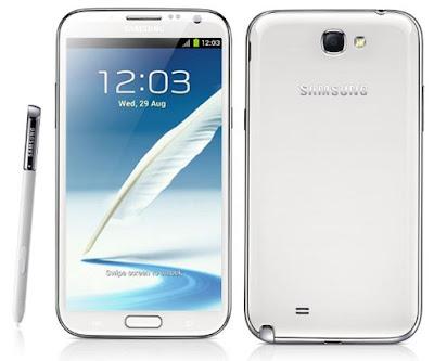 Spesifikasi dan Harga Samsung Galaxy Note 2 Terbaru