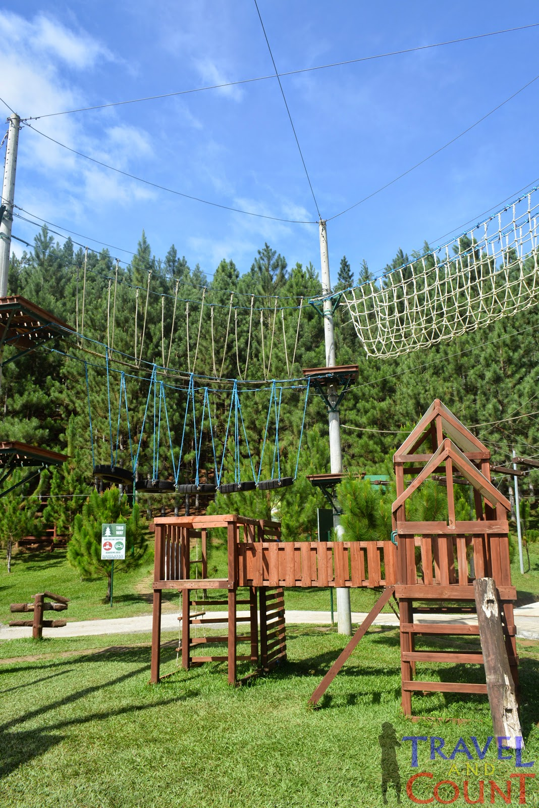 Dahilayan Park Rope Course Bukidnon