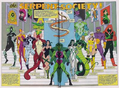 Serpent Society members II