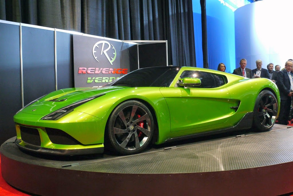 Green Ferrari Full HD Wallpaper