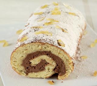 Spanish Rolled Sponge Cake