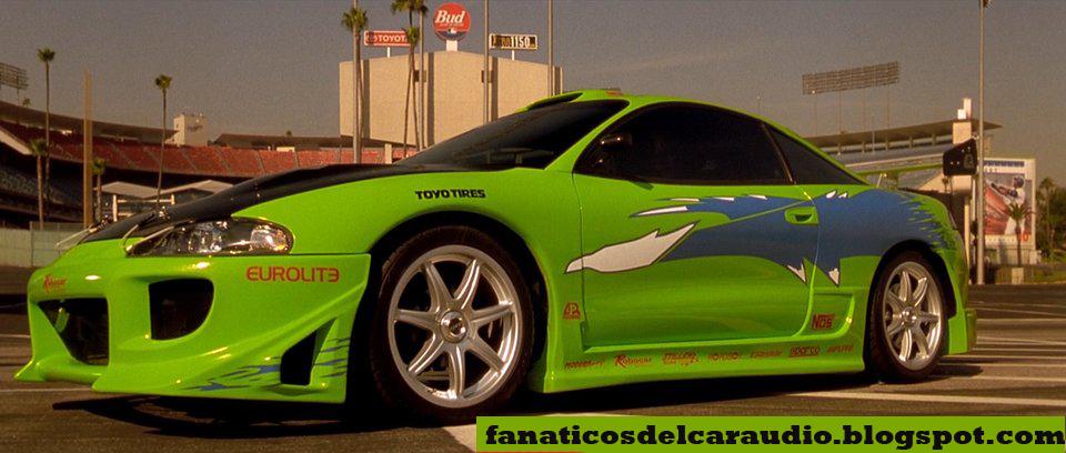 Autos De Rapido Y Furioso 1  The Fast And The Furious