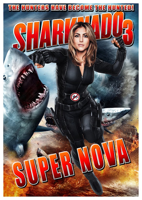 Sharknado 3 Oh Hell No! 2015 Bluray 720p 700MB Subtitle Indonesia