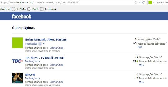 Home do Facebook