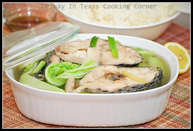 Pinay in texas cooking corner pesang tilapia for Fish recipe panlasang pinoy
