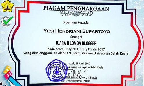 2nd Winner Universitas Syiah Kuala Aceh