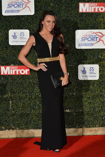 Singer, Actress, Television Personality, Glamour Model, @ Michelle Heaton - Daily Mirror Pride of Sport Awards in London