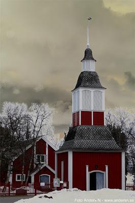 bottnisk klockstapel, Jukkasjärvi kyrka