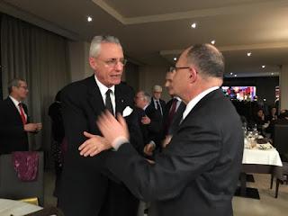 A colloquio con sua Eccellenza l' Ambasciatore Daniele Mancini - Ambasciatore d'Italia presso la Sa