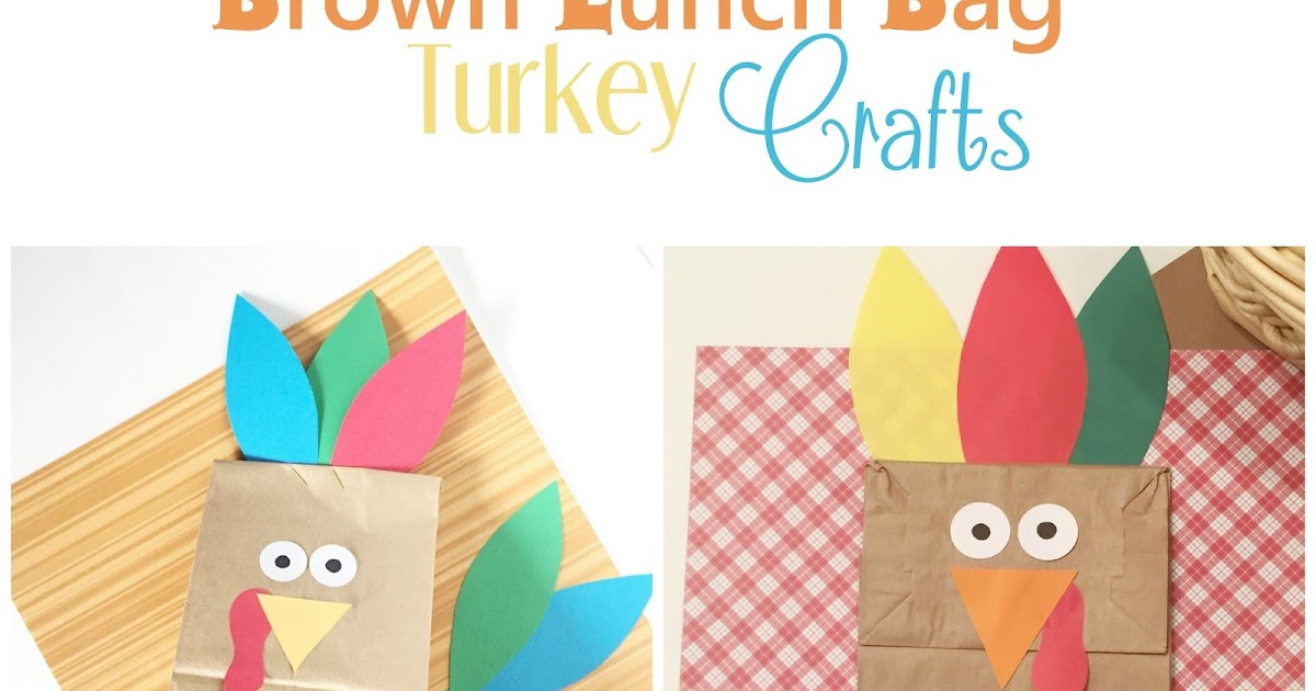 Lifes journey to perfection two turkey brown lunch bag turkey crafts sciox Choice Image