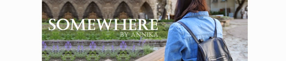 Somewhere by Annika