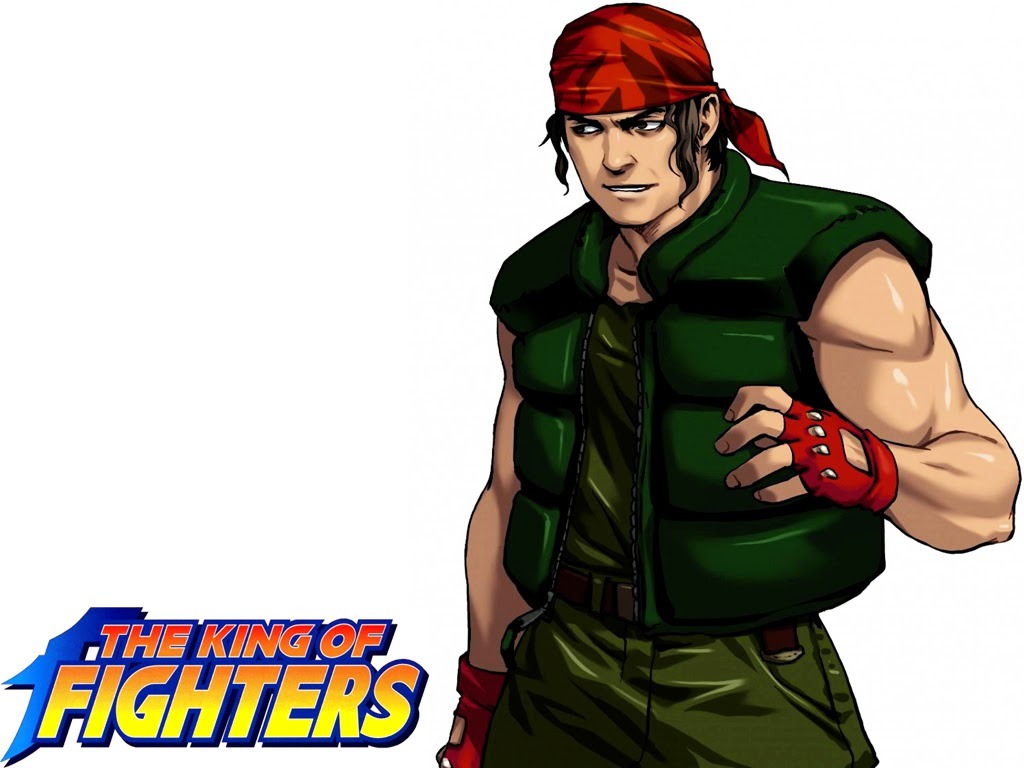 02king Of Fighters 97 Wallpaper Ralf Jones