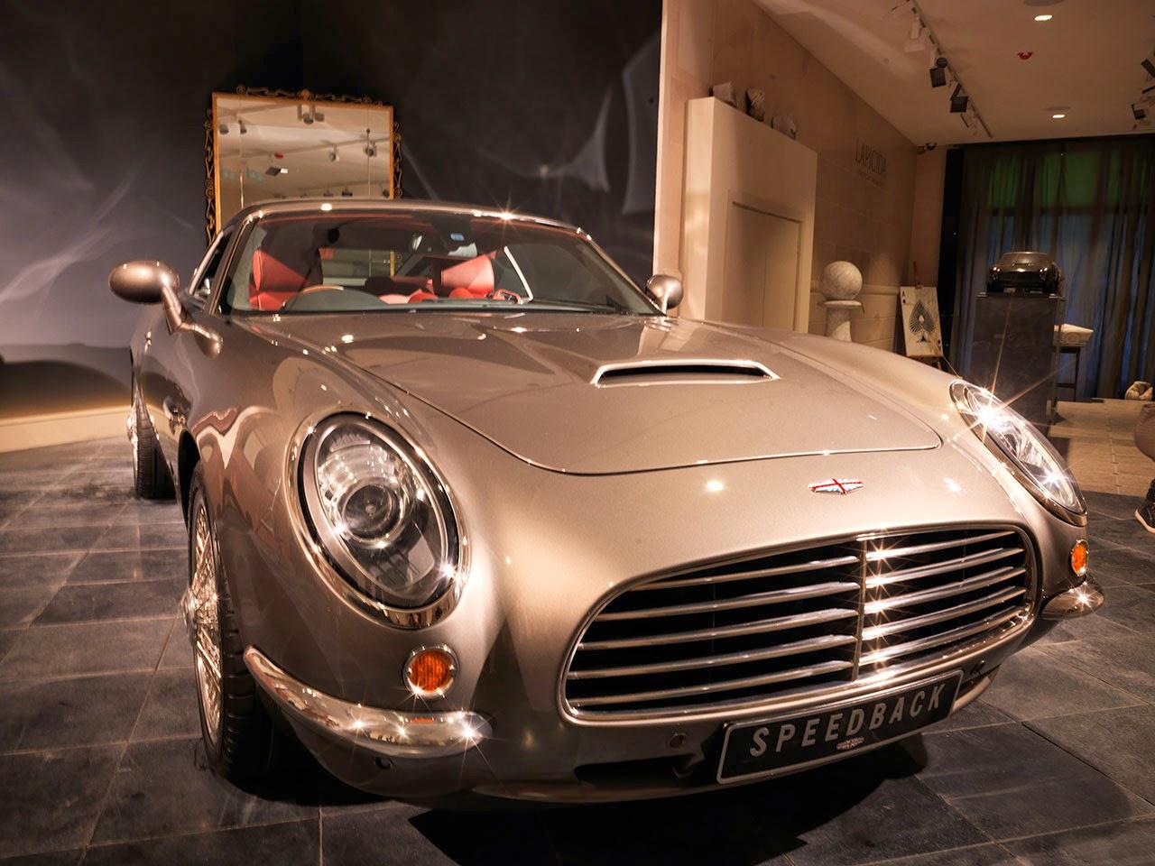 David Brown Automotive Speedback front