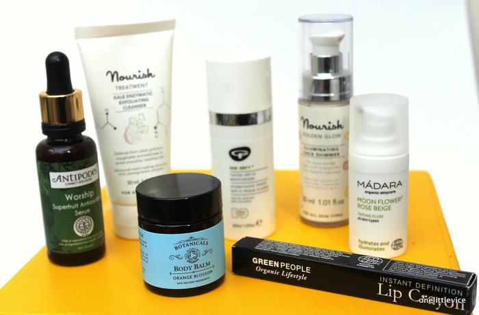 one little vice beauty blog: organic beauty week