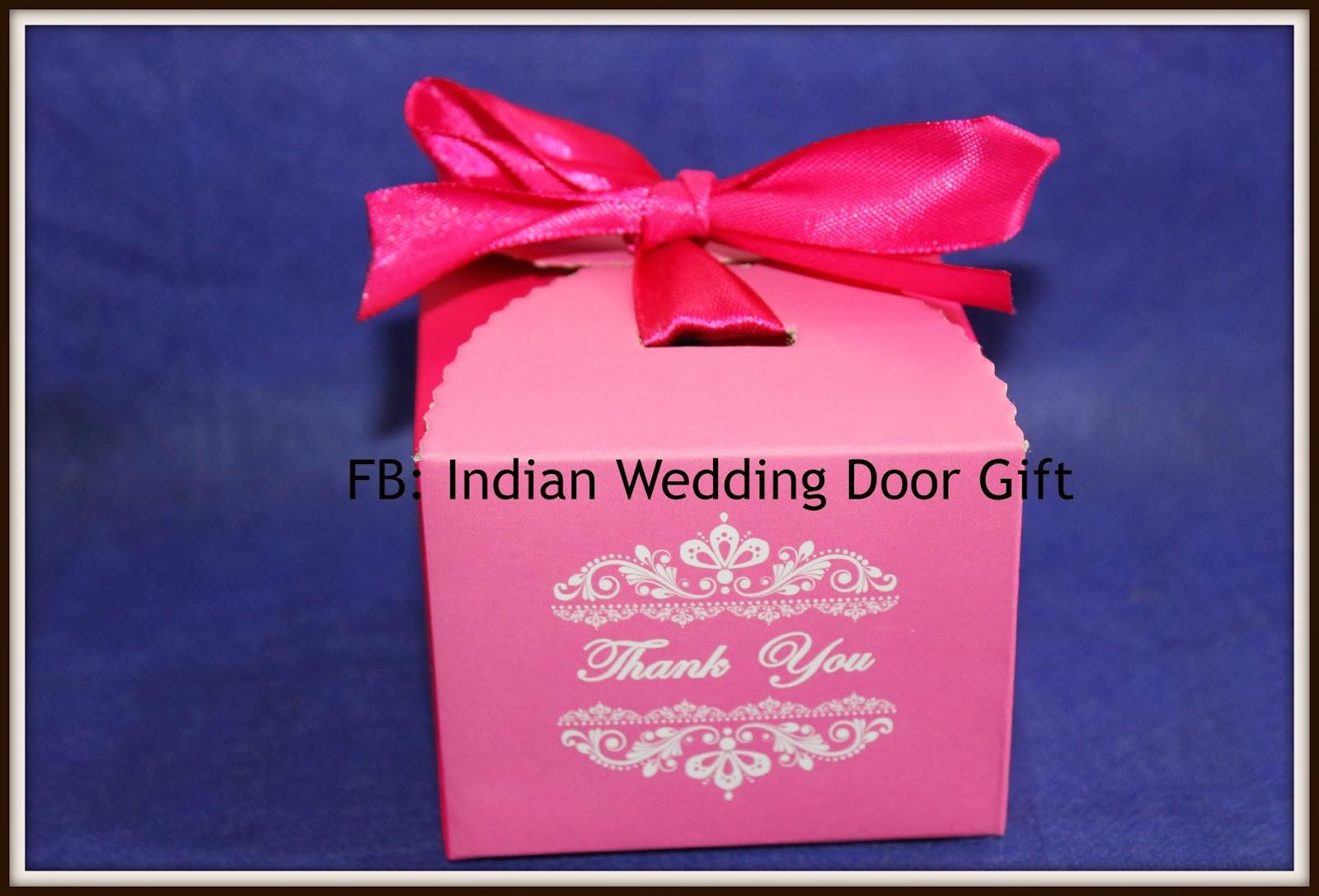Indian Wedding Door Gift: Indian Sweets : Laddu In Box