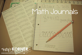 Quick, daily math journal labels. Aligned with common core and perfect for 1st grade!