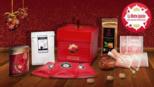 La box Envouthé de Noël: une bonne idée de cadeau